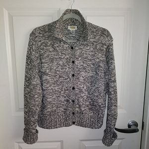 Talbots Heavyweight 100% Cotton Cardigan M